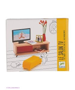 DJECO | Мебель Для Кукольного Дома Телевизор
