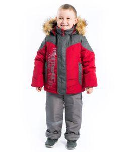 Аксарт | Комплект Аким Утепленный Куртка Со Съемной Меховой Подстежкой