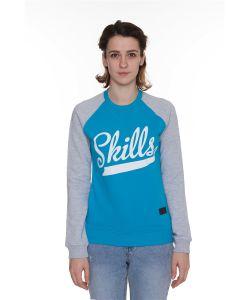 Skills | Свитшот W Script Logo 2 Crewneck
