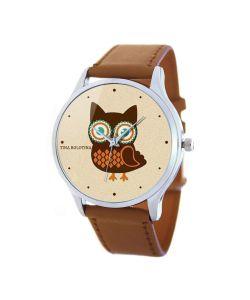 Tina Bolotina | Дизайнерские Часы Совушка