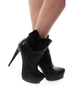 SEANNA | Украшение Клипсы На Обувь Черные Бархатные Бантики