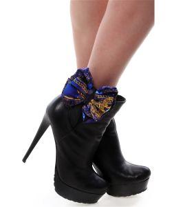 SEANNA | Украшение Клипсы На Обувь Шелковые Банты Синие Драгоценности