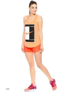 Nike | Топ W Nkct Dry Tank Dbl Logo