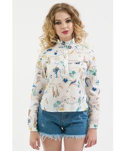 Monoroom | Рубашка Со Стойкой Сурикаты Kw5