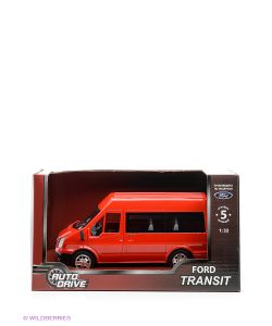 AUTODRIVE | Форд Транзит 132 Инерц. Пластиковая Машинка