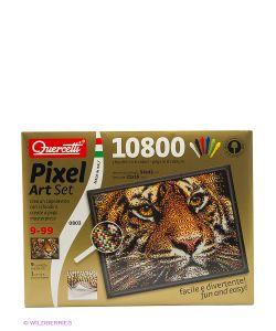 Quercetti | Пиксельная Мозаика Серии Арт Тигр