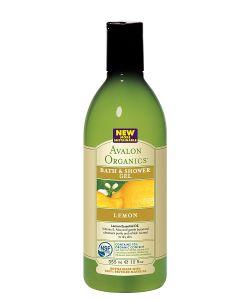 Avalon Organics | Гель Для Ванны И Душа С Маслом Лимона355 Мл
