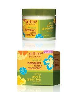 Alba Botanica | Гавайский Увлажняющий Крем Алоезеленый Чай 85 Гр