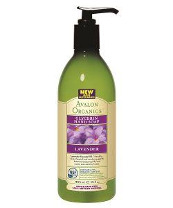 Avalon Organics | Глицериновое Мыло С Маслом Лаванды 355 Мл