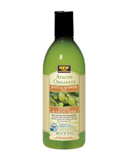 Avalon Organics | Гель Для Ванны И Душа С Маслом Оливы И Косточек Винограда355