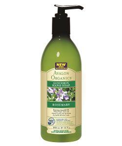 Avalon Organics | Глицериновое Мыло Для Рук С Маслом Розмарина 355 Мл