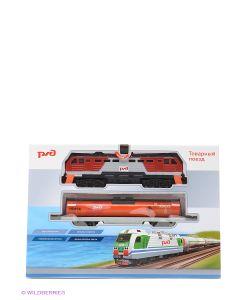 Играем вместе | Железная Дорога Товарный Поезд Ржд