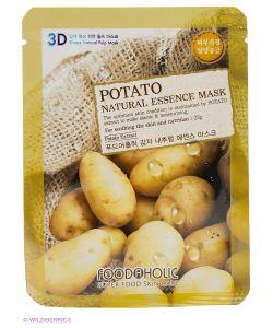 FOODAHOLIC | Тканевая 3d Маска С Экстрактом Картофеля