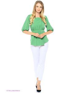 RIJJINI | Блузка-Жакет С Вертикальными Складками Спереди