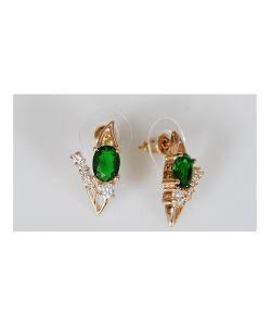 Lotus Jewelry | Серьги Фианит Январь