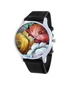 Tina Bolotina | Дизайнерские Часы Цветы Роспись