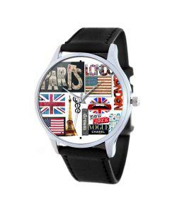 Tina Bolotina | Дизайнерские Часы Символы Столиц Мира