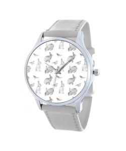 Tina Bolotina | Дизайнерские Часы Кроличий Узор