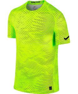 Nike | Футболка M Np Top Ss Fttd Aop