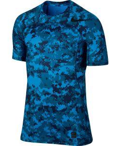 Nike | Футболка M Np Hprcl Top Ss Fttd D Camo