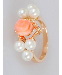 Lotus Jewelry | Кольцо Коралл Романтик