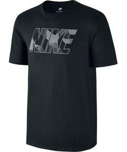 Nike | Футболка M Nsw Tee Prnt Pk Zinc Blk