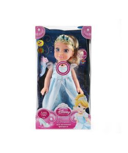 Карапуз | Кукла Disney Princess Золушка 37См На Бат. Озвуч. Светится Амулет