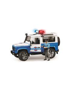 Bruder | Внедорожник Land Rover Defender Station Wagon Полиция С Фигуркой