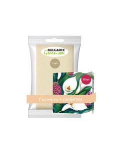 Bulgaree Green | Набор Bg50Каллы Бумажна Скатерть 1 Шт И Упаковка Двухслойных Салфеток С
