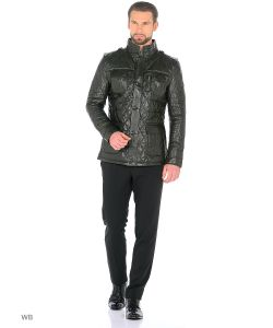 Mondial | Стеганая Кожаная Куртка