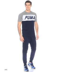 Puma | Футболка Colorblock Tee