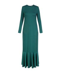 Bella Kareema   Платье Базовое Трикотажное С Воланом