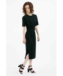 Monoroom | Платье-Футболка Черное Kw2 One-Size 42-46