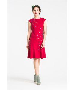 YULIA'SWAY   Платье Slоt 3 С Аппликацией
