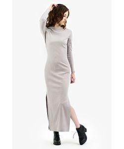 Monoroom | Платье С Разрезами Жемчуг Kw4 One-Size 42-46