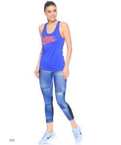 Nike | Топ W Nk Dry Tank Lgd Run Swoosh