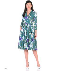 MeiLLer | Элегантное Платье С Цветочным Принтом.