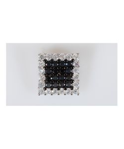 Lotus Jewelry | Кулон Rh Фианит Квадрат