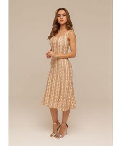 DEMURYA | Платье-Сарафан Из Плетеной Ткани На Подкладе