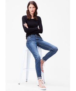 s.Oliver | Джинсы Shape Superskinny Raw Denim