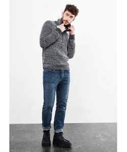 s.Oliver | Джинсы Rick Slim Graue Stretch-Jeans