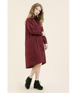 Monoroom | Платье-Рубашка Бордо Kw3 One-Size 42-46