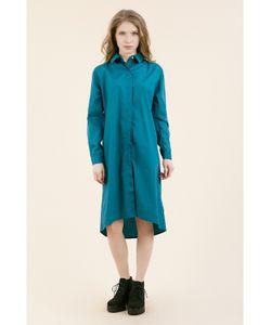 Monoroom | Платье-Рубашка Морская Волна Kw3 One-Size 42-46
