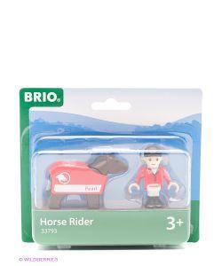 Brio | Лошадка С Попоной И Всадник 33793