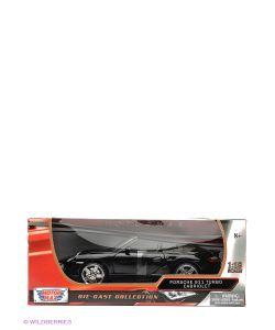 Motormax | Машина 1К18 Porsche 911 Turbo Cabriolet
