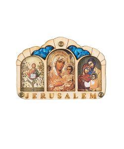 Holy Land Collections | Триптих Благословение Водител Иерусалим