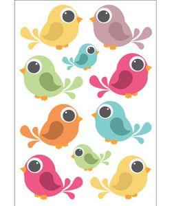 DECORETTO | Виниловые Наклейки Птички