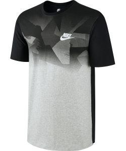 Nike | Футболка M Nsw Tee Prnt Pk Zinc Clrblk