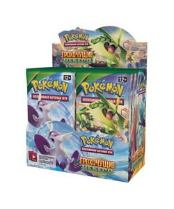 TOMY | Игра Коллекционна Карточна Покемон Ху Грохочущие Небеса Бустер 10 Карт Pack
