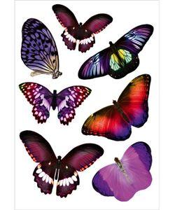 DECORETTO | Виниловые Наклейки Лиловые Бабочки